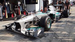 Mercedes GP Italien 2013