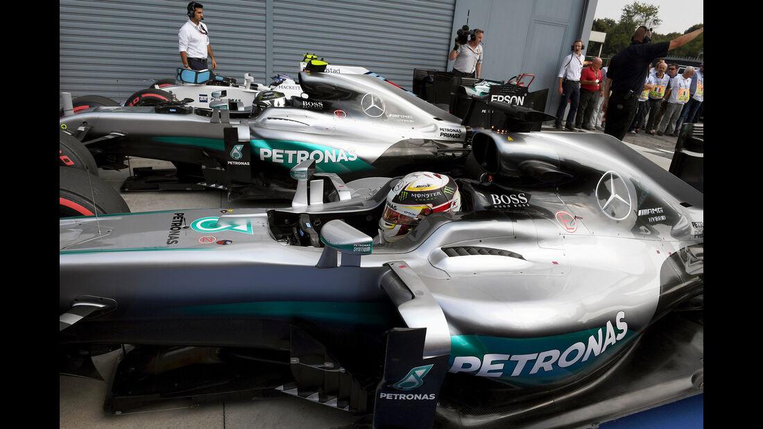 Mercedes - GP Italien 2016