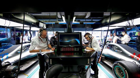 Mercedes - GP Italien 2018