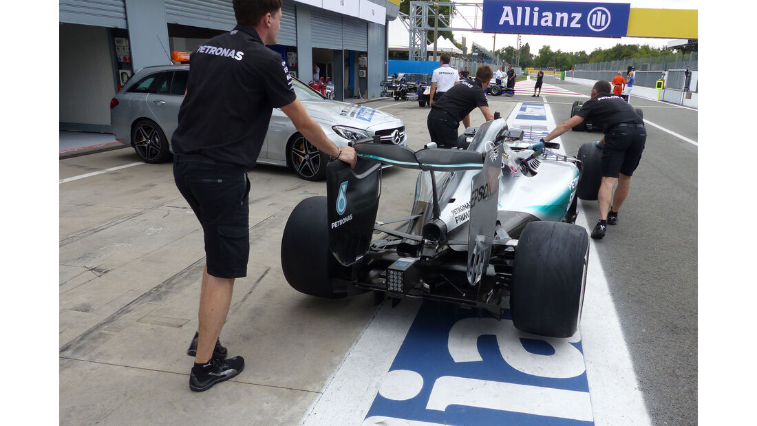 Mercedes - GP Italien - Monza - Donnerstag - 3.9.2015