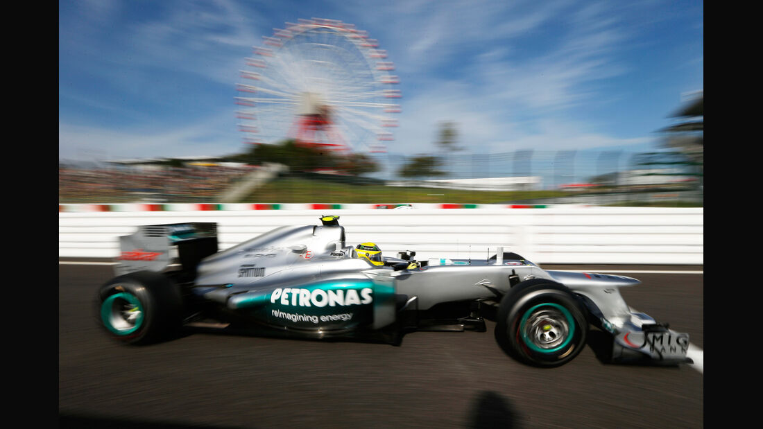 Mercedes GP Japan 2012