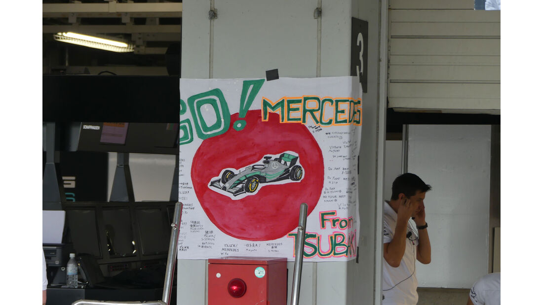 Mercedes - GP Japan - Suzuka - Formel 1 - Freitag - 5.10.2018