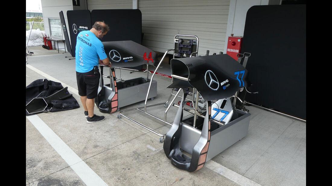 Mercedes - GP Japan - Suzuka - Mittwoch - 3.10.2018