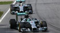 Mercedes - GP Kanada 2014