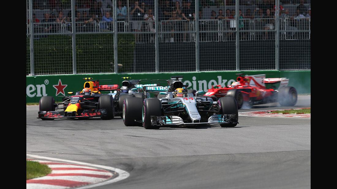 Mercedes - GP Kanada - Formel 1 - 2017