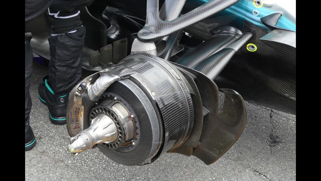 Mercedes - GP Kanada - Formel 1 - Technik - 2017
