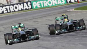 Mercedes GP Malaysia 2013