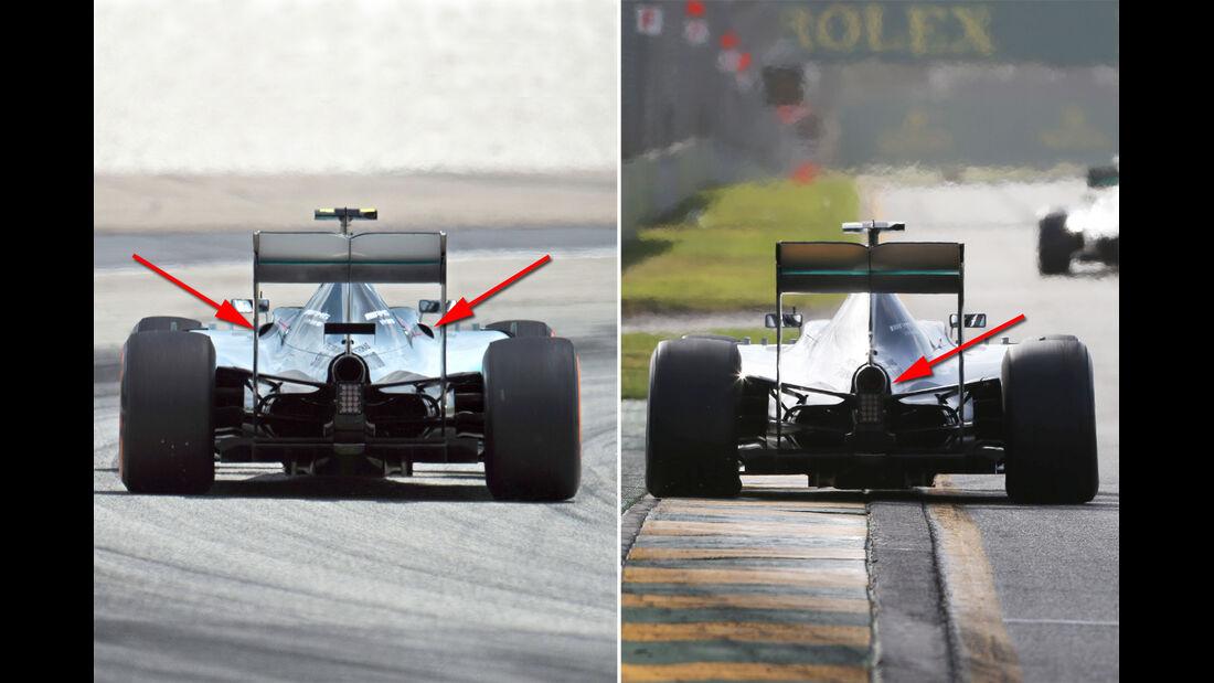 Mercedes - GP Malaysia 2015 - Kühlung