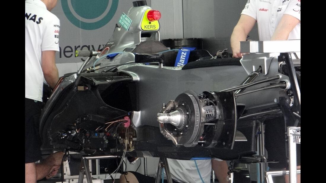 Mercedes - GP Malaysia - 22. März 2012