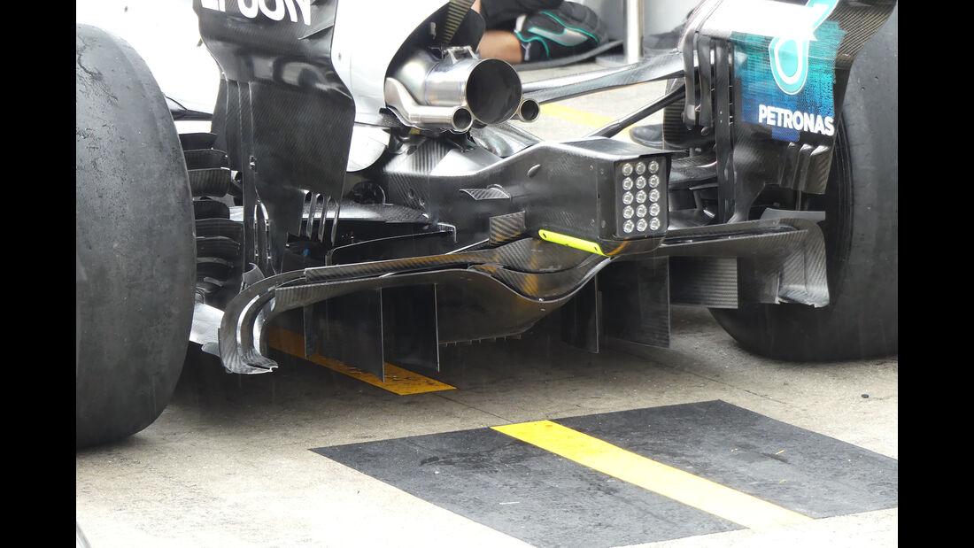 Mercedes - GP Malaysia - Sepang - 29. Oktober 2017