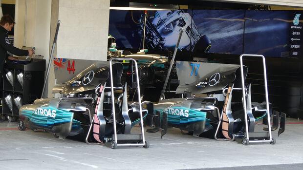 Mercedes - GP Mexiko - Formel 1 - Donnerstag - 26.10.2017