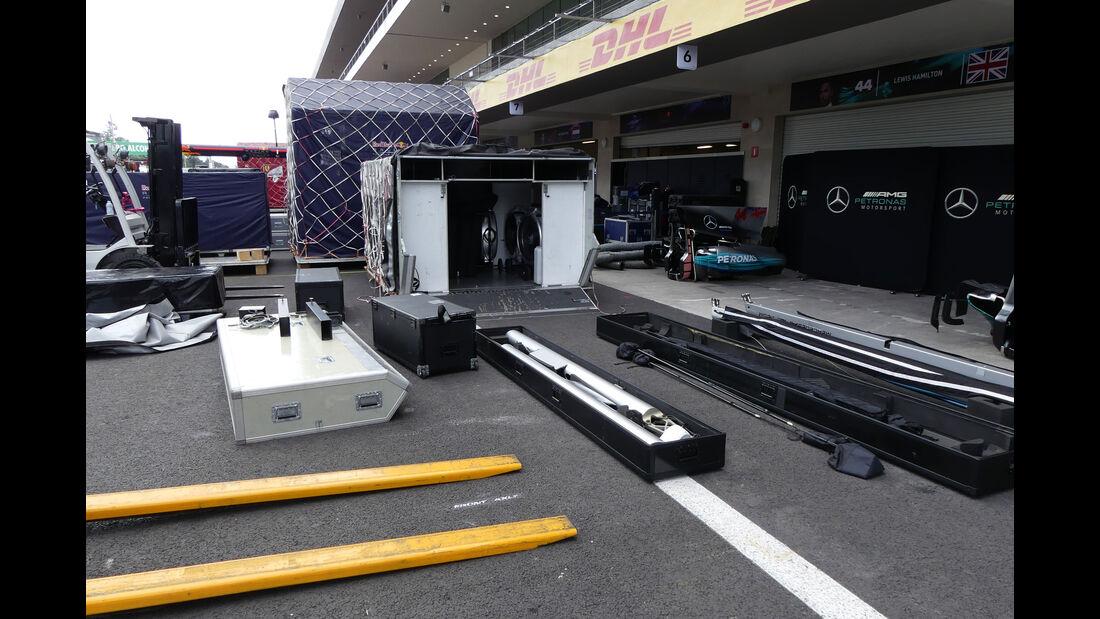Mercedes - GP Mexiko - Formel 1 - Mittwoch - 25.10.2017