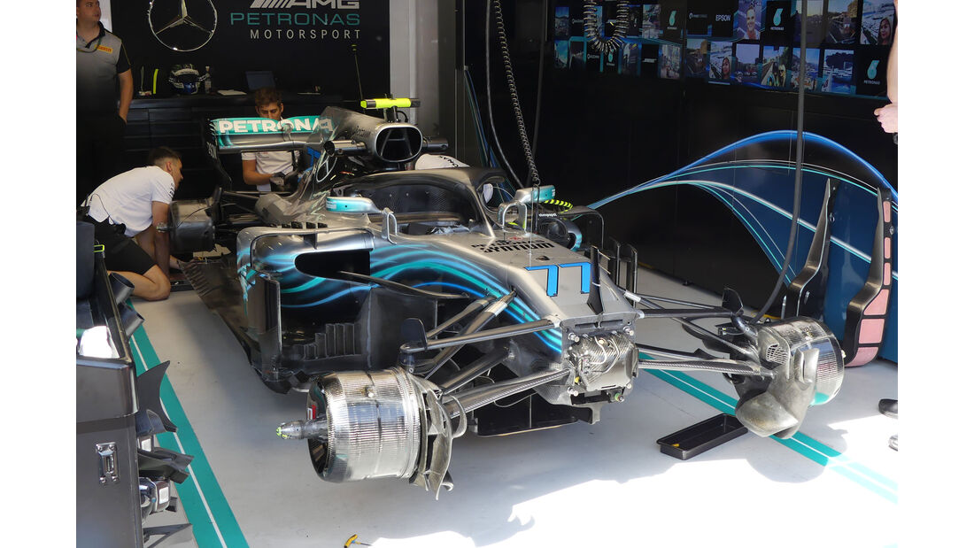 Mercedes - GP Monaco - Formel 1 - Donnerstag - 24.5.2018