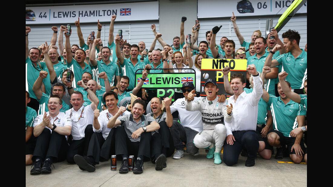 Mercedes - GP Österreich 2014