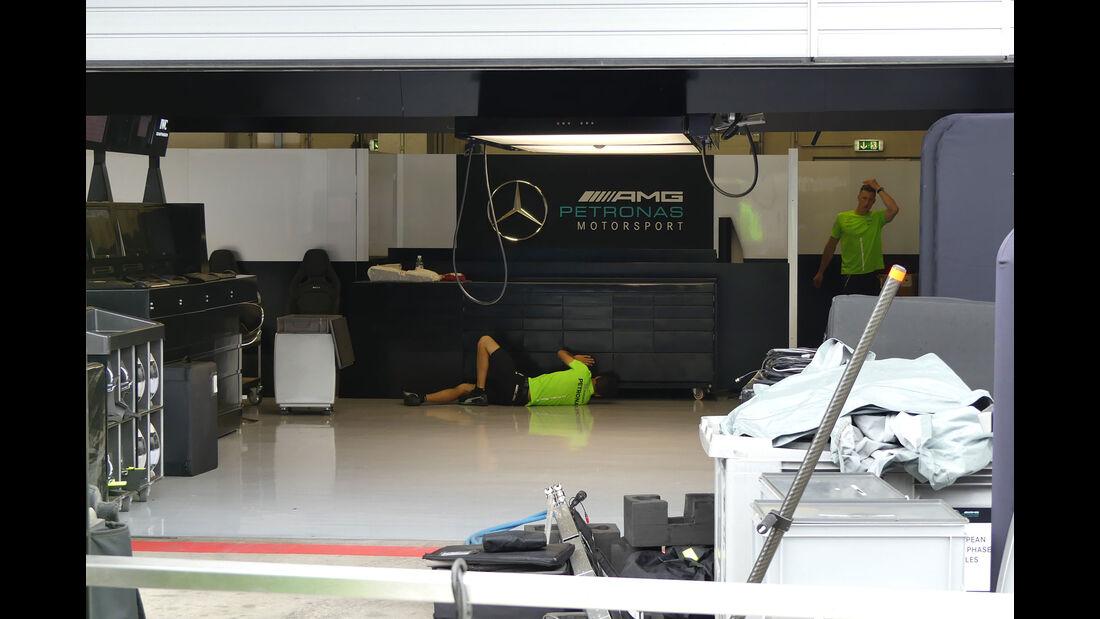 Mercedes - GP Österreich 2017 - Spielberg - Formel 1 - Mittwoch - 5.7.2017