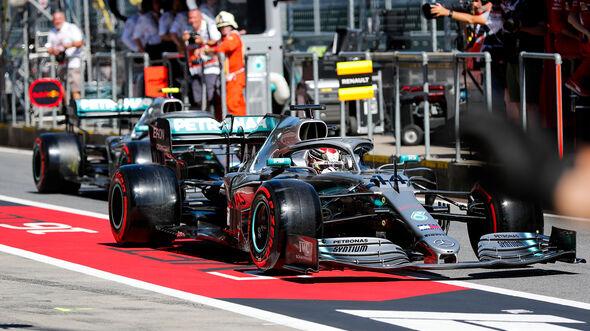 Mercedes - GP Österreich 2019