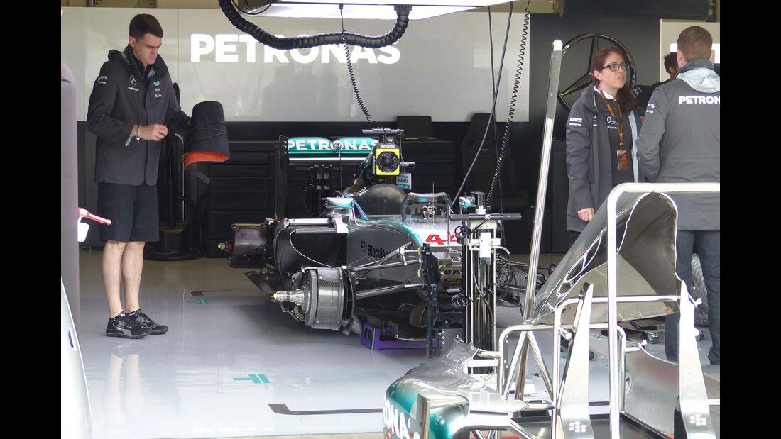 Mercedes - GP Österreich - Formel 1 - Freitag - 19.6.2015