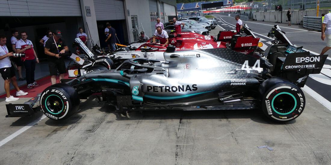 Mercedes - GP Österreich - Spielberg - Donnerstag - 27. Juni 2019