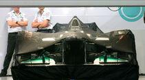 Mercedes GP Parc Fermé 2011