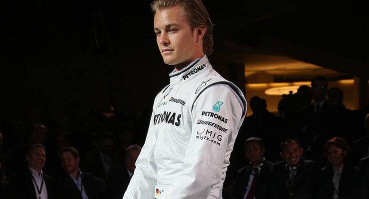 Mercedes GP Pr�sentation 2010
