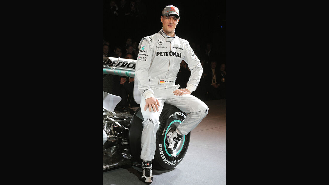 Mercedes GP Präsentation 2010