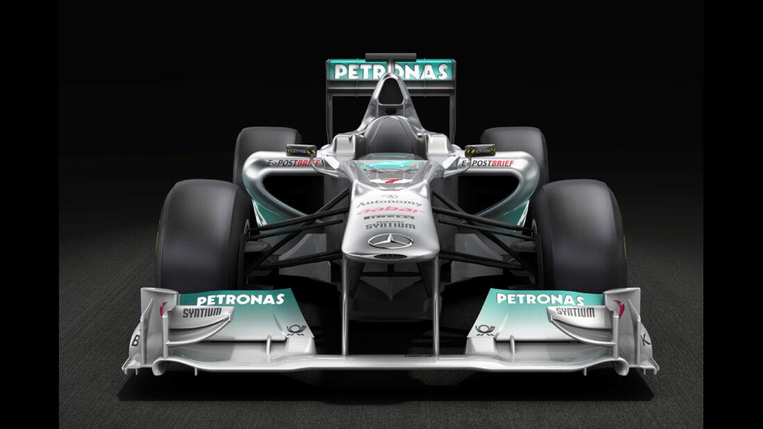 Mercedes GP Präsentation 2011