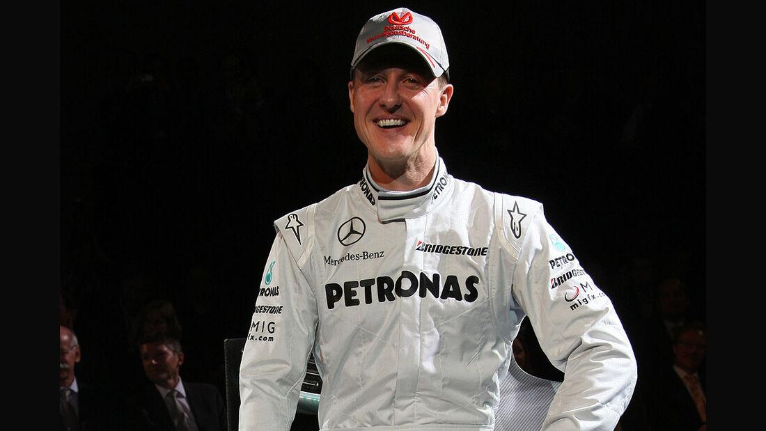Mercedes GP Presentation