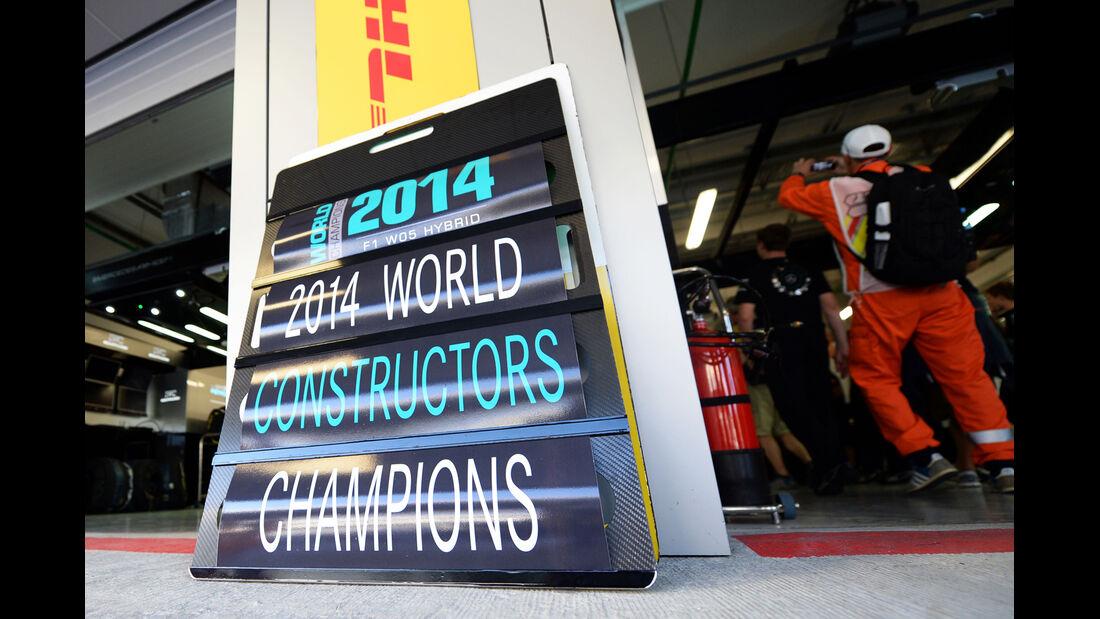 Mercedes - GP Russland 2014