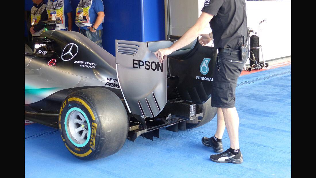 Mercedes - GP Russland - Sochi - Freitag - 9.10.2015