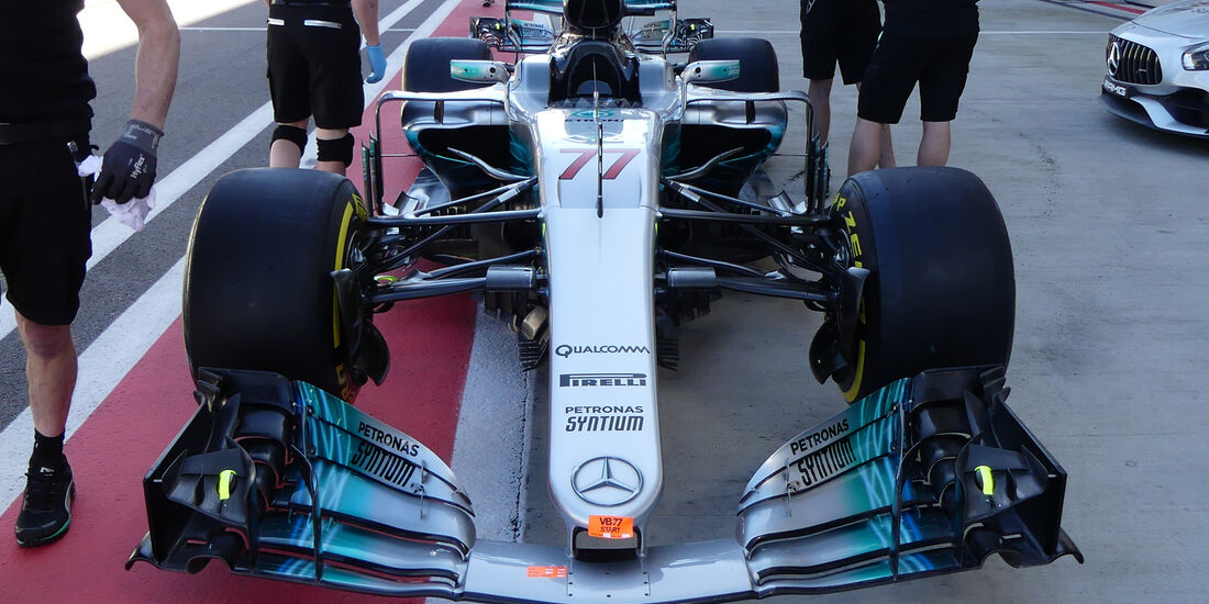 Mercedes - GP Russland - Sotschi - Formel 1 - 27. April 2017