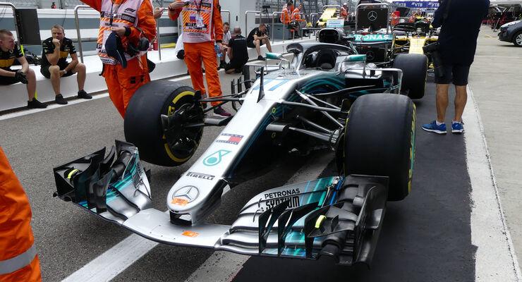 Mercedes - GP Russland - Sotschi - Formel 1 - Donnerstag - 27.9.2018