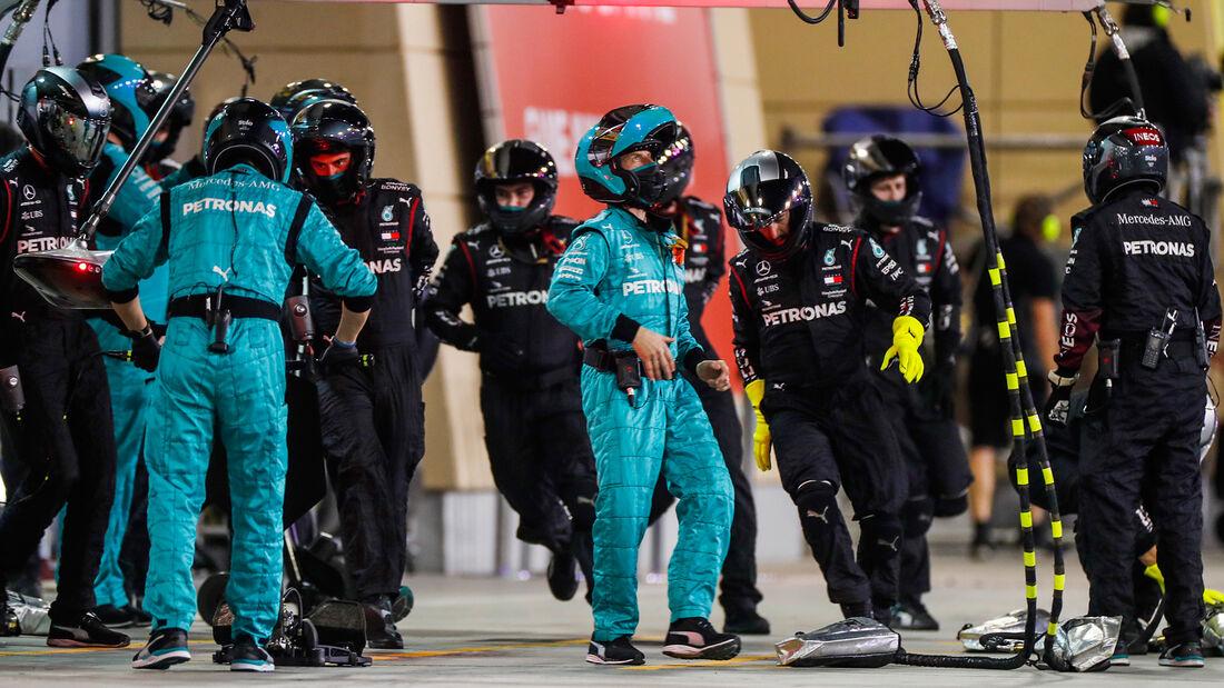 Mercedes - GP Sakhir 2020 - Bahrain - Rennen