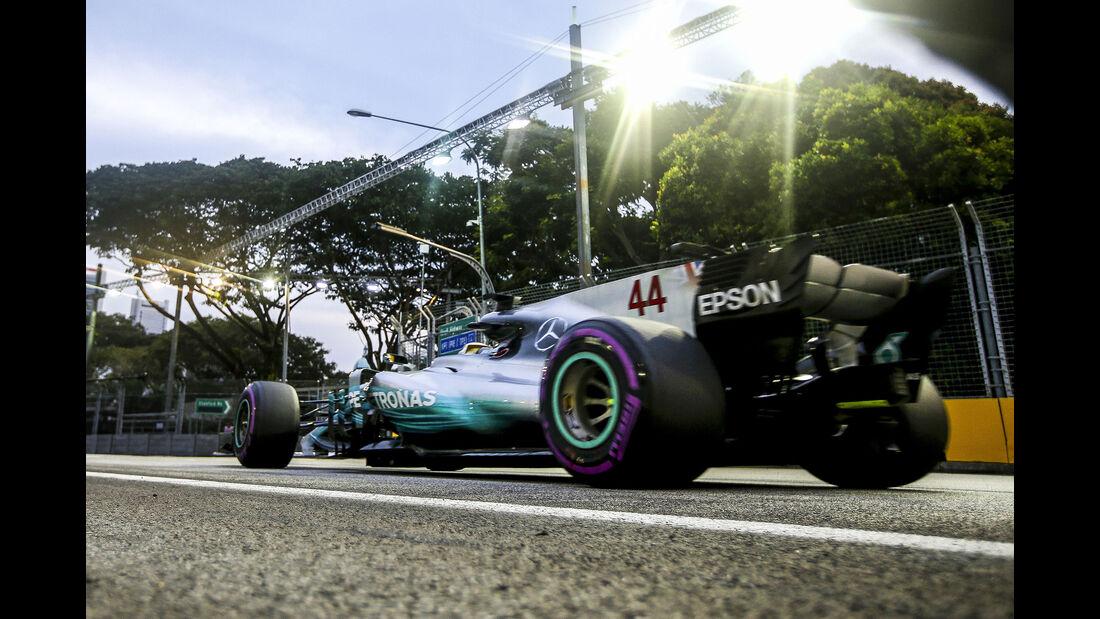 Mercedes - GP Singapur 2017