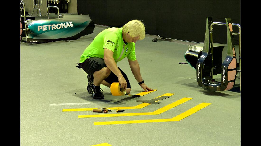 Mercedes - GP Singapur - Formel 1 - 16. September 2015