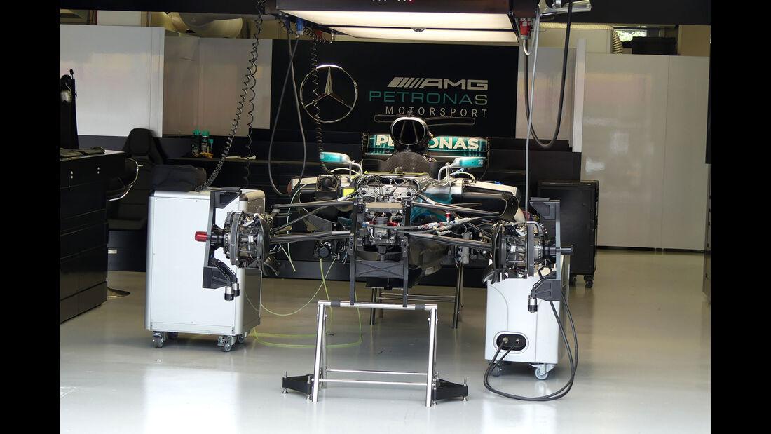 Mercedes - GP Singapur - Formel 1 - Donnerstag - 14.9.2017