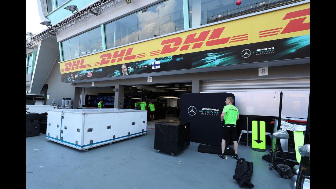 Mercedes - GP Singapur - Formel 1 - Mittwoch - 13.09.2017