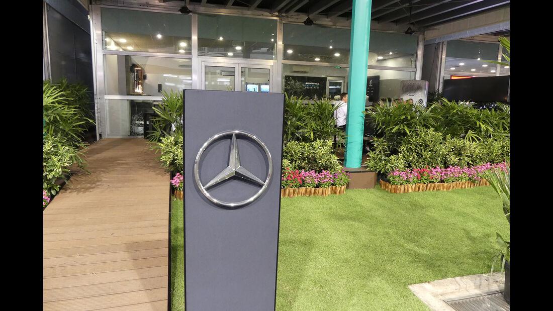 Mercedes - GP Singapur - Formel 1 - Mittwoch - 18.09.2019