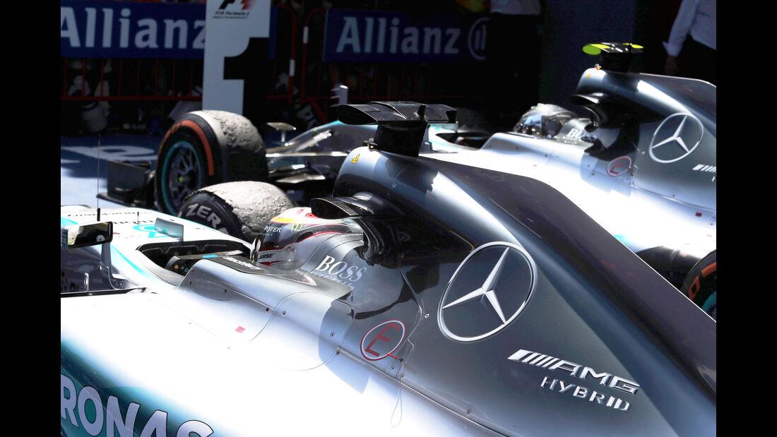 Mercedes - GP Spanien 2015