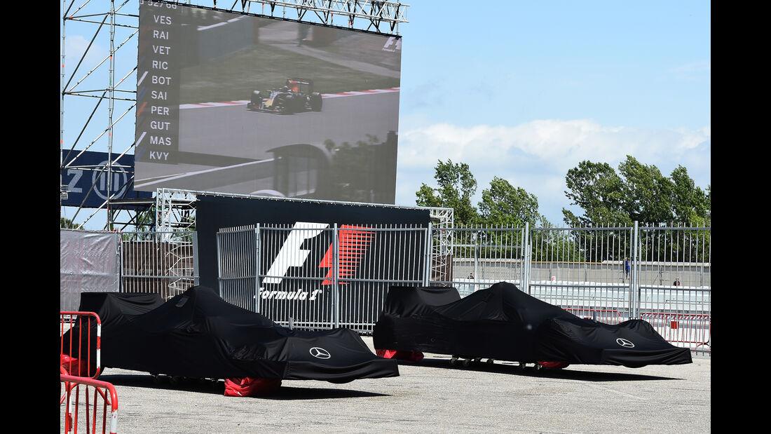 Mercedes - GP Spanien 2016