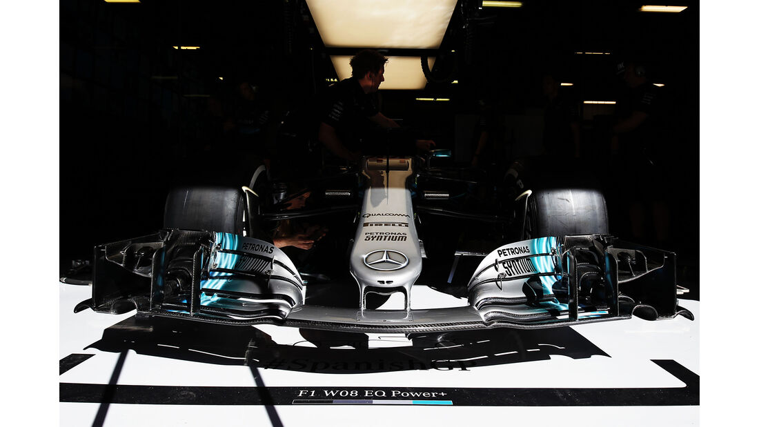 Mercedes - GP Spanien - Barcelona - 12. Mai 2017