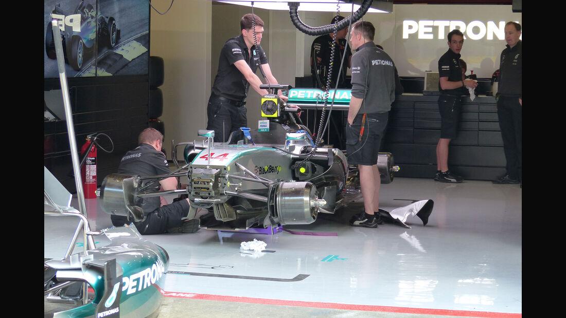 Mercedes - GP Spanien - Barcelona - Freitag - 8.5.2015
