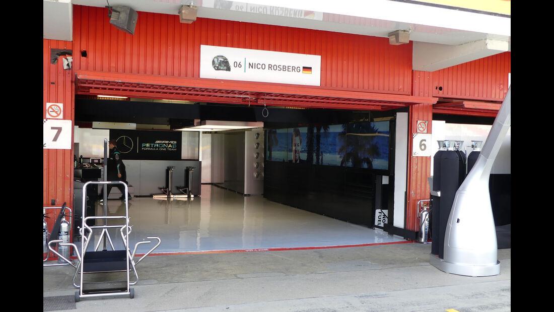Mercedes - GP Spanien - Circuit de Barcelona-Catalunya - Mittwoch - 11. Mai 2016
