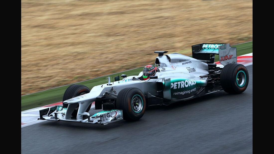 Mercedes GP, Testfahrten Magny Cours 2012
