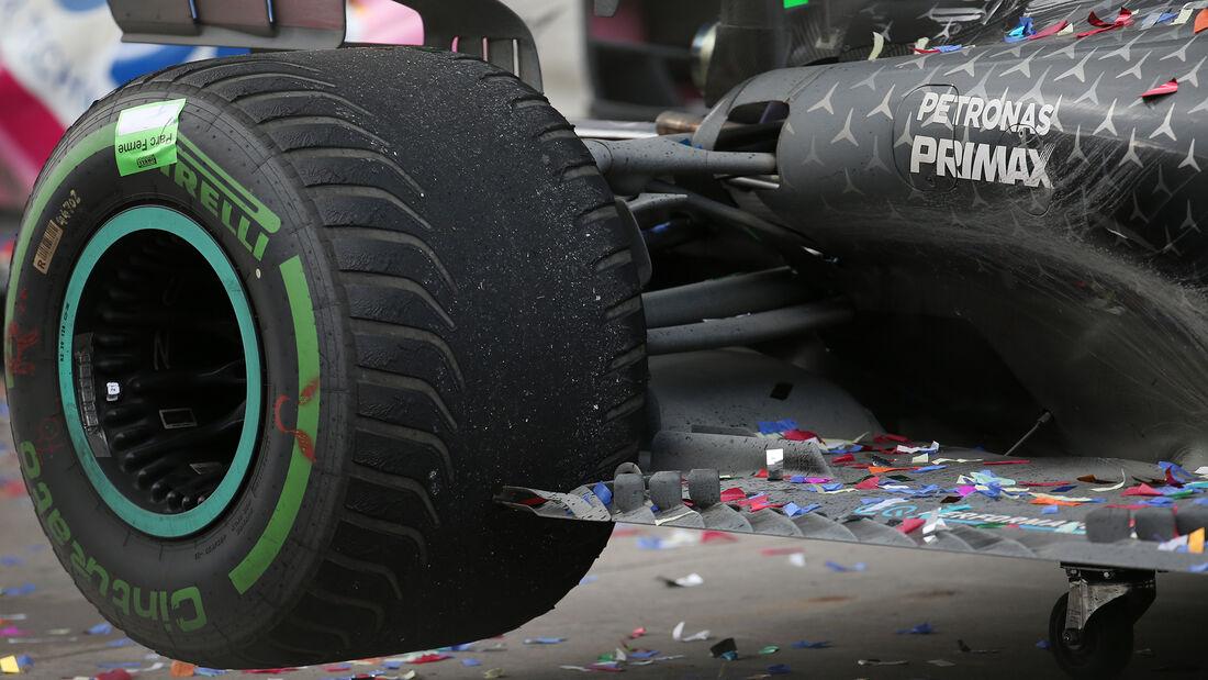 Mercedes - GP Türkei 2020 - Istanbul - Rennen