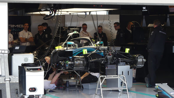 Mercedes - GP USA 2018