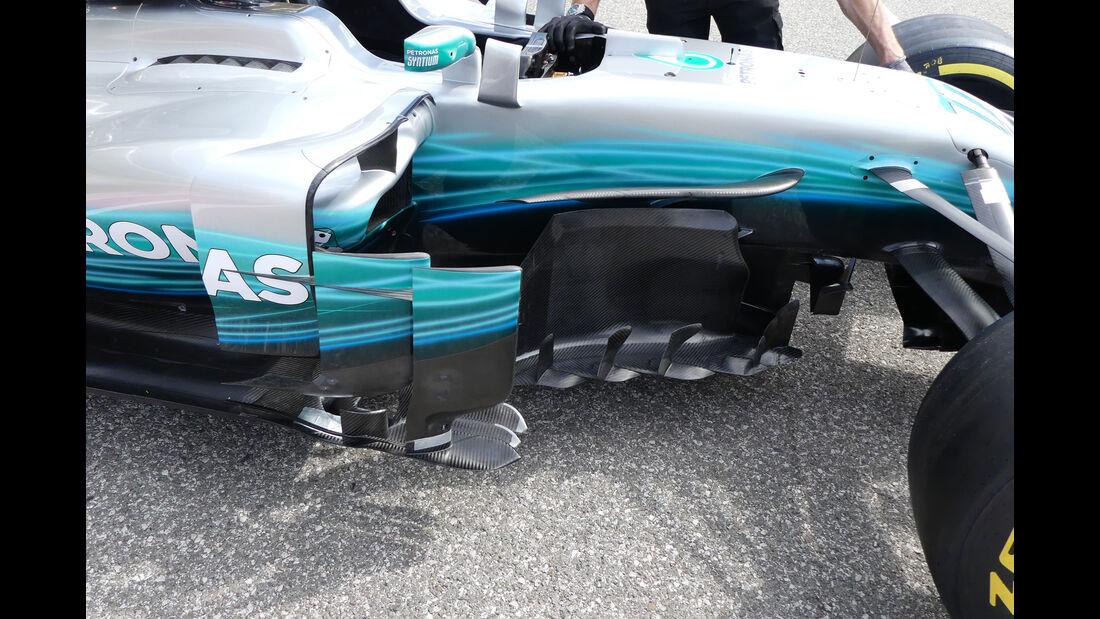Mercedes - GP USA - Austin - Formel 1 - Donnerstag - 19.10.2017