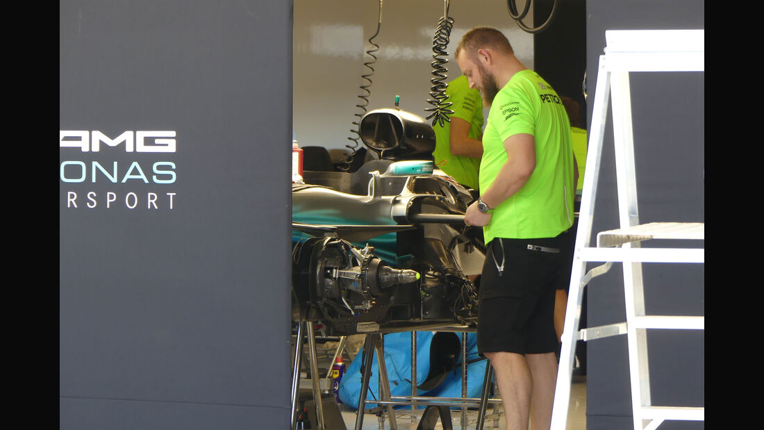 Mercedes - GP USA - Austin - Formel 1 - Mittwoch - 18.10.2017