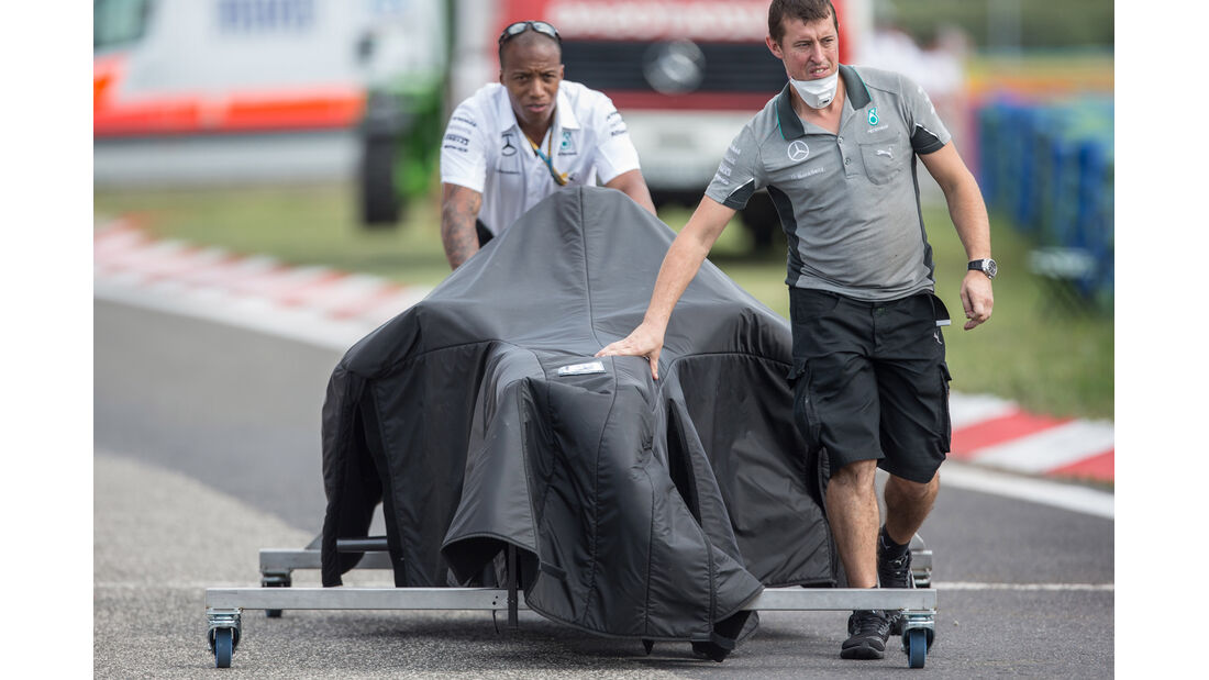 Mercedes - GP Ungarn 2014 - Danis Bilderkiste