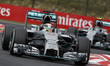Mercedes - GP Ungarn 2014