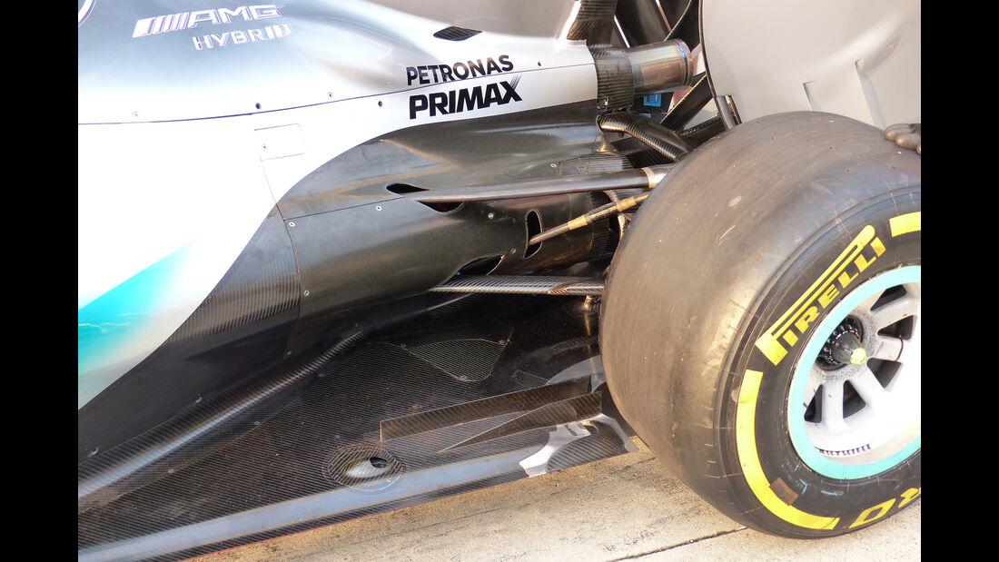 Mercedes - GP Ungarn 2015